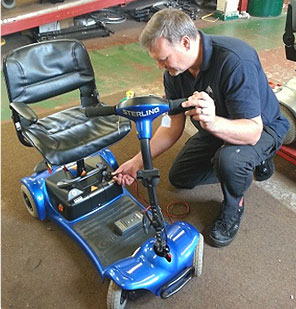 Repairs to mobility equipment