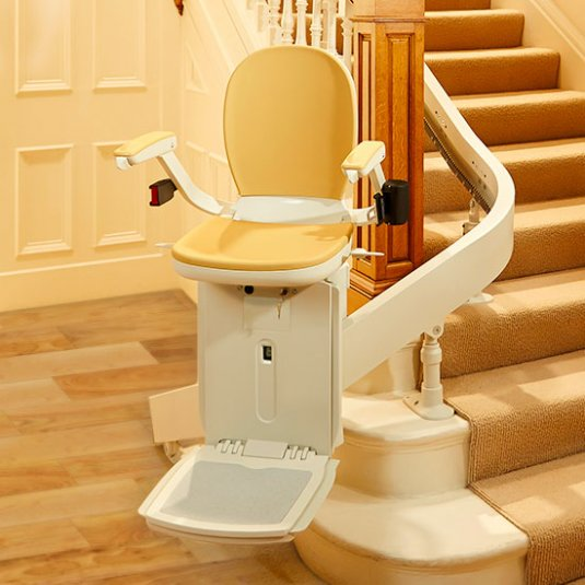 Curved Stairlifts Cardiff