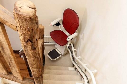 Curved stairlifts South Wales