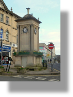 Grade II listed town centre clock Stroud