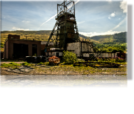 Winding Tower Colliery Rhondda